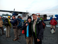 Ready to board for Lukla