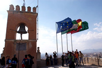 Alhambra Tower flags